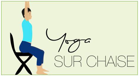 yoga sur chaise maison image id e. Black Bedroom Furniture Sets. Home Design Ideas